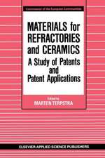 Materials for Refractories and Ceramics: A Study of Patents and Patent Applications
