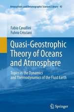 Quasi-Geostrophic Theory of Oceans and Atmosphere: Topics in the Dynamics and Thermodynamics of the Fluid Earth