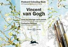 Van Gogh:  Postcard Colouring Book