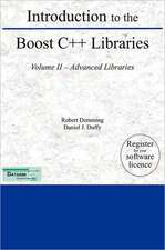 Introduction to the Boost C++ Libraries; Volume II - Advanced Libraries