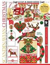 Scandinavian Christmas Cut-n-Make Book