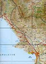 Saranda Provinzkarte 1 : 120 000 GPS