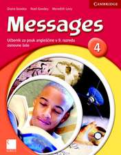 Messages 4 Student's Book Slovenian Edition