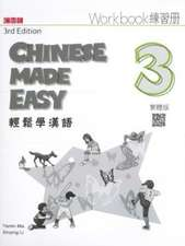 Chinese Made Easy 3 - workbook. Traditional character version