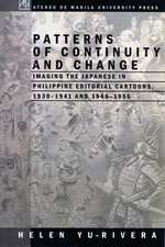 Patterns of Continuity and Change:  Imaing the Japanese in Philippine Editorial Cartoons, 1930-1941 and 1946-1956