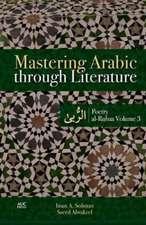 Mastering Arabic Through Literature