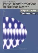 Lectures Notes on Phase Transformations in Nuclear Matter