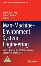 Man-Machine-Environment System Engineering: Proceedings of the 16th International Conference on MMESE