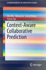 Context-Aware Collaborative Prediction