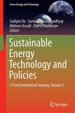 Sustainable Energy Technology and Policies: A Transformational Journey, Volume 2