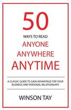 50 Ways to Read Anyone, Anywhere, Anytime