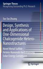 Design, Synthesis and Applications of One-Dimensional Chalcogenide Hetero-Nanostructures: Novel Metal Sulfide Hetero-Nanorods for Enhancing Solar Energy Conversion