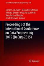 Proceedings of the International Conference on Data Engineering 2015 (DaEng-2015)