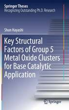 Key Structural Factors of Group 5 Metal Oxide Clusters for Base Catalytic Application
