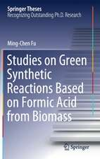 Studies on Green Synthetic Reactions Based on Formic Acid from Biomass