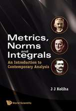 Metrics, Norms and Integrals:  An Introduction to Contemporary Analysis