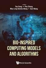 Bio-Inspired Computing Models and Algorithms