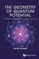 The Geometry of Quantum Potential: Entropic Information of the Vacuum