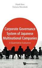 Corporate Governance System of Japanese Multinational Companies