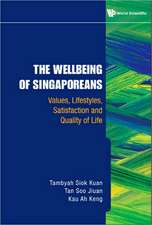 The Wellbeing of Singaporeans