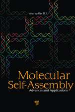 Molecular Self-Assembly:  Advances and Applications