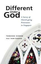 Different Under God:  A Survey of Church-Going Protestants in Singapore