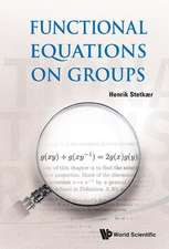 Functional Equations on Groups