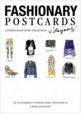 Fashionary: FASHIONARY POSTCARD BOOK