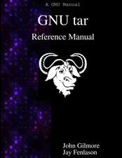 Gnu Tar Reference Manual:  An Archiver Tool